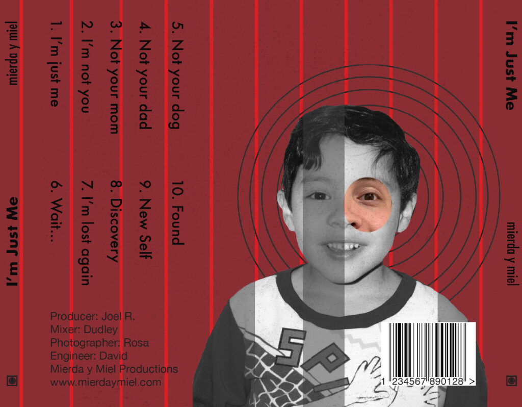 Mierda y Miel CD Back Cover
