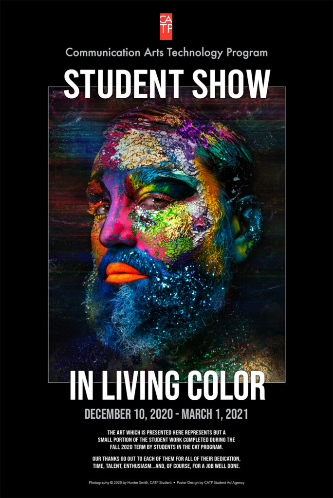 FALL 2020 CAT STUDENT SHOW POSTER
